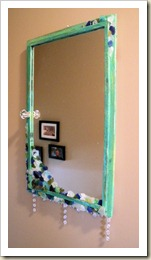 antique mirrorr makeover 11