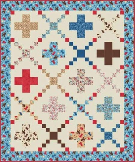 Roder Rider quilt pattern
