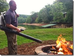 Redneck fire starter