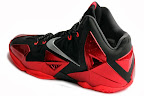 nike lebron 11 gr black red 12 02 New Photos // Nike LeBron XI Miami Heat (616175 001)