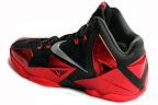 nike lebron 11 gr black red 12 02 New Photos // Nike LeBron XI Miami Heat (616175 001)