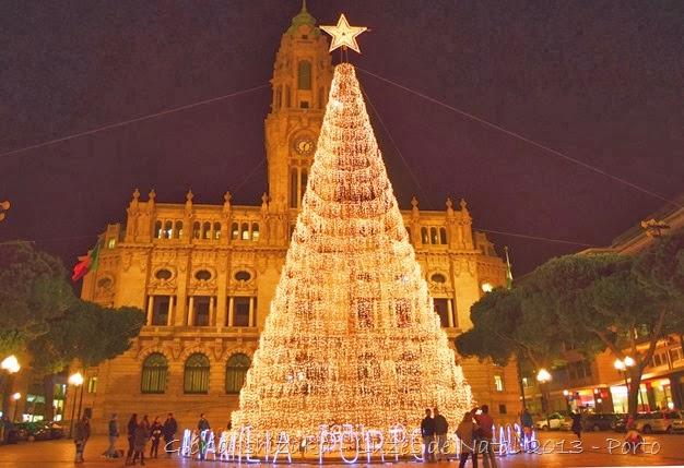 Glória Ishizaka - Luzes de Natal 2013 - Porto 3 - Aliados