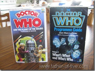 Dr. Who Books