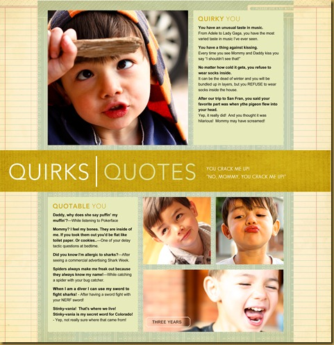 Quirks and Quotes 2011