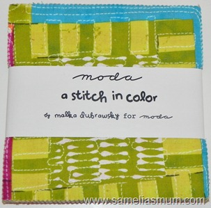 A Stitch in Color by Malka Dubrawsky Charm Pack (999x967)