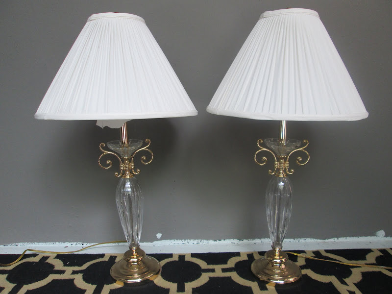 Waterford Table Lamp Pair