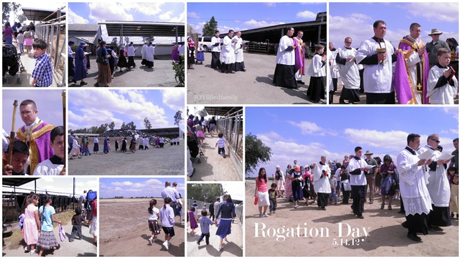 Rogation Day Collage