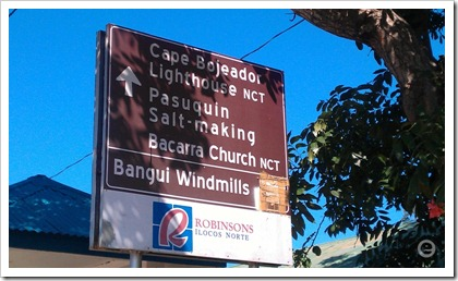 bangui windmills signboard