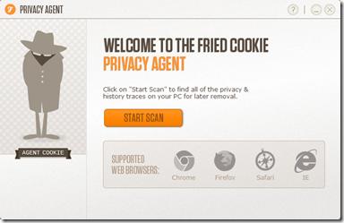 Privacy Agent avvio scansione