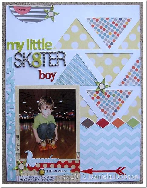 Sk8ter boy by Daniela Dobson