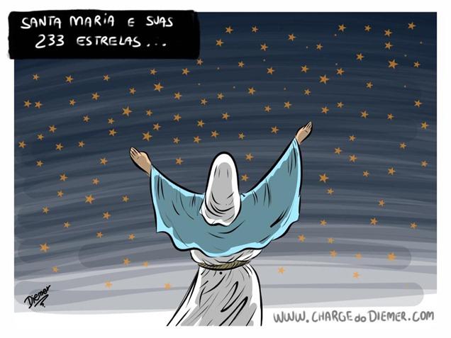 Charge Santa Maria e Suas Estrelas