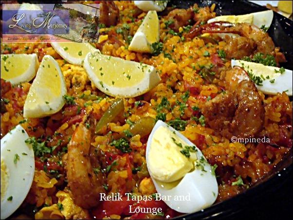 Relik's Mixed Paella