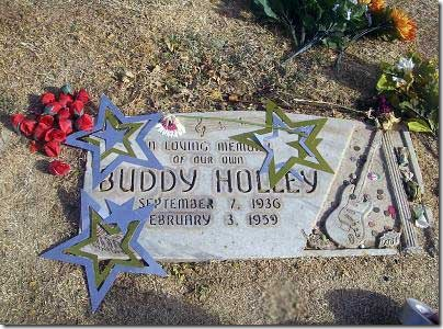 Buddy Holley aka Buddy Holly grave