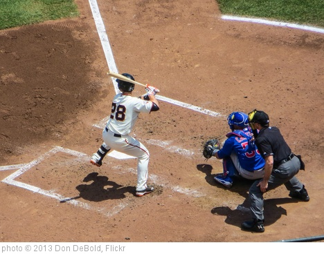 'Posey at Bat' photo (c) 2013, Don DeBold - license: http://creativecommons.org/licenses/by/2.0/
