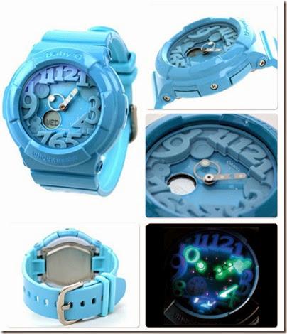 Casio Baby-G BGA-131-7B Neon Illuminator 130 Series blue 04