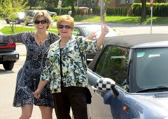 Terri Barb off to Celebrate Mother's Day