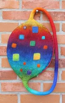 Regenbogen-Beutel-Ei