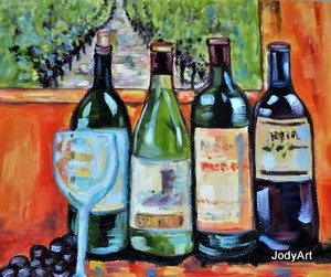 jody smith bottles still life
