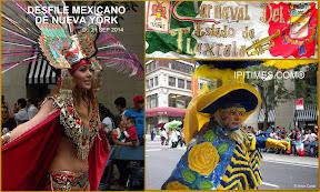 "MEXICO ||||| ""MEXICAN DAY PARADE OF NEW YORK CITY 2014"" (DESFILE MEXICANO DE NUEVA YORK).  FOTOS POR ARTUR CORAL / IPITIMES.COM /NY, 21 SEP 2014."