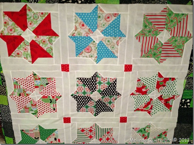 0713 Christmas Quilt Top