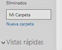 Crear carpeta nueva
