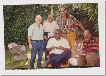 LEO COSTE, LESTER MCKENZIE, ALEXIS CONCEPCION, MARIO COLON Y MIGUEL DE LOS SANTOS