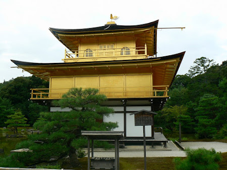 Kyoto: The golden temple