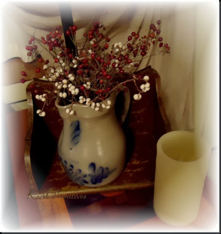 jug with rose hip