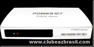ATUALIZAÇÃO MEGABOX POWERNET P100 HD PLATINUM V.220