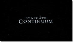 Stargate Continuum Title