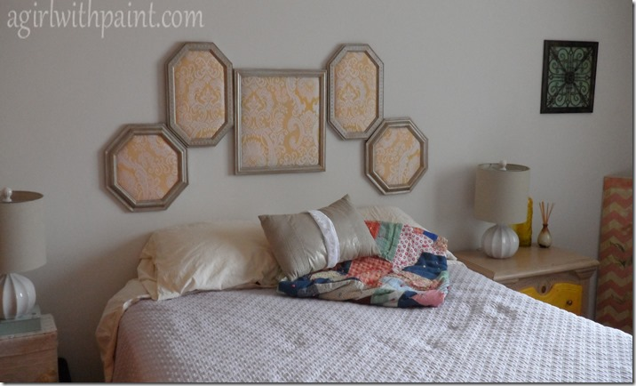upholstered picture frame headboard