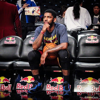 wearing brons nba lebron8 low kyrie irving 01 Kyrie Irving Turns Back the Clock and Goes Back to LeBron 8 V/2 Low