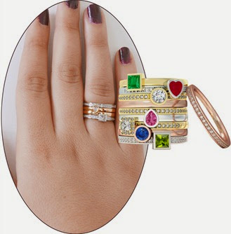 Stackable Rings are unique and pretty!