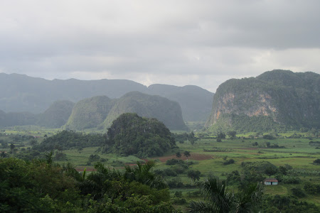 Peisaj tipic in Vinales
