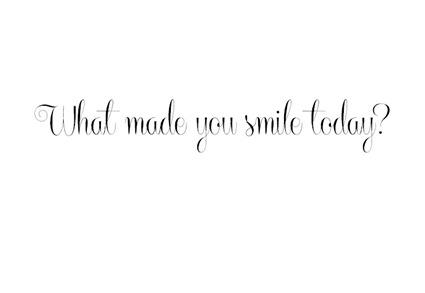 font smile