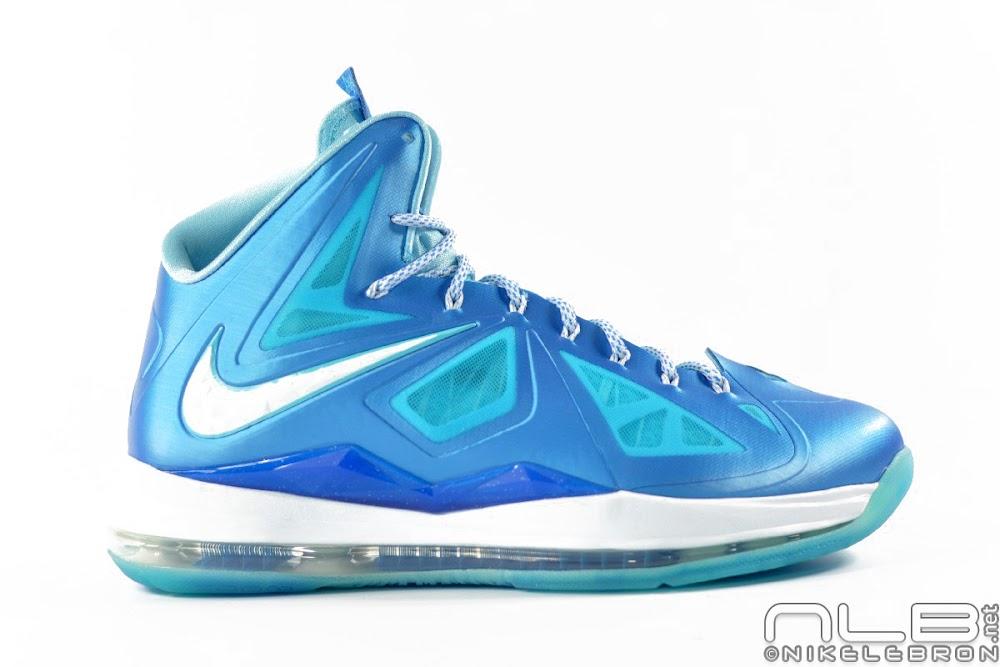 4a76864bbe0 ... The Showcase Nike LeBron X Sport Pack 8220Blue Diamond8221 ...