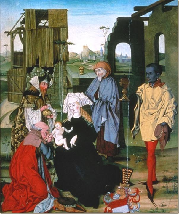 Maestro de Anbetung, Adoration des Mages 1485-95