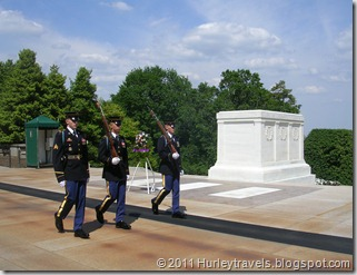 Arlington Natl Cem, tomb of the Unknown Soldier