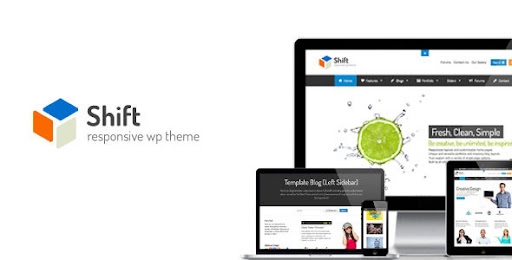 Shift - Flexibly Creative WP Theme - ThemeForest Item for Sale