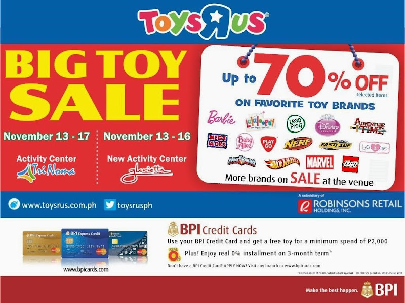 Toys R Us Big Toy Sale