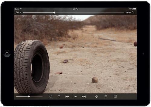 VLCメディアプレイヤーのモックアップ画像