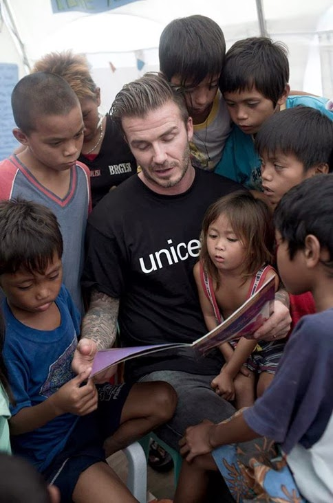 David Beckham Typhoon Haiyan Unicef (5)