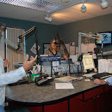 Wbfj Hosts Kyle Petty In Studio 10-7-10