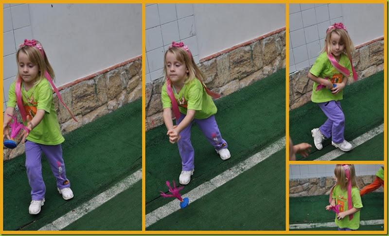 Infantil 4 manhã - Peteca no gramado5