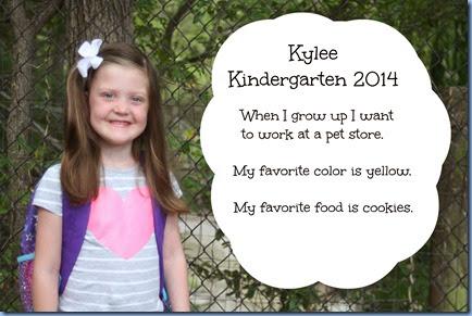 Kylee Kinder 2014