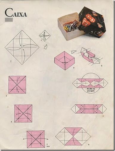 caja de origami