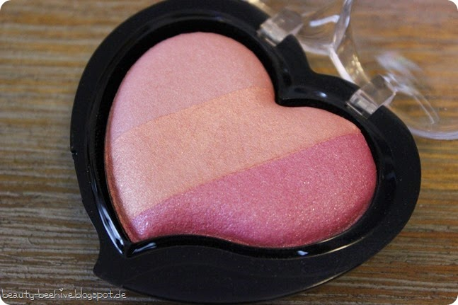 p2 just dream like le limited edition endless love trio blush rouge 020 greatest wish review swatch swatches tragebild tragebilder testbericht test 1