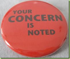 concern button