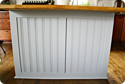 board and batten kitchen island from thrifty decor chick