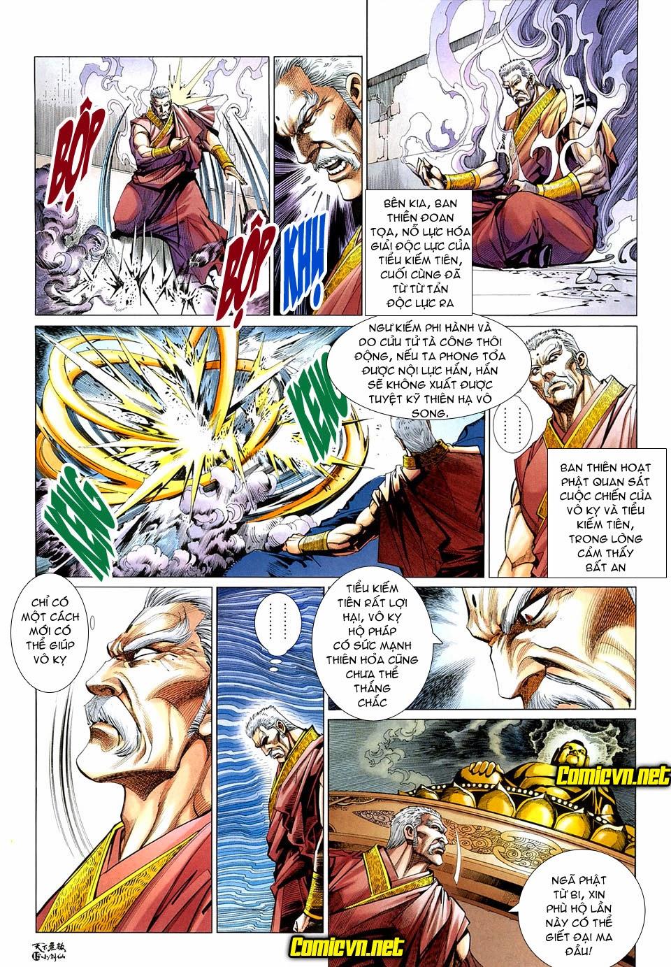 Thiên Hạ Vô Địch Tiểu Kiếm Tiên chap 31 - Trang 16